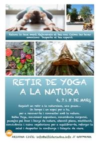 Flyer Retir Yoga Natura