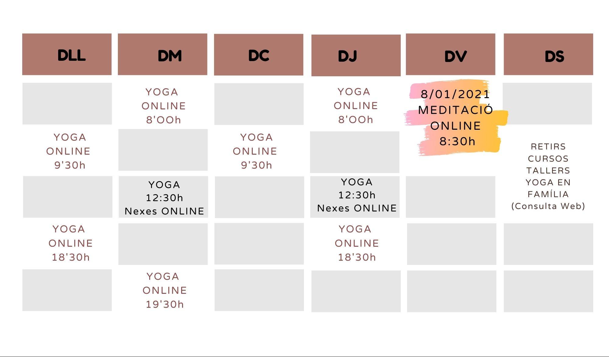 yoga gener 2021 online